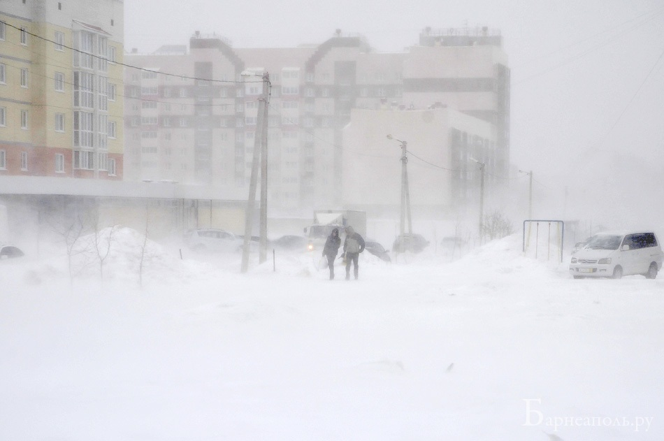 Буран в Барнауле