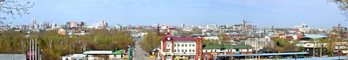 Панорама Барнаула